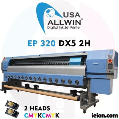 Allwin EP 320 DX5 2H Ecosolvent Printer