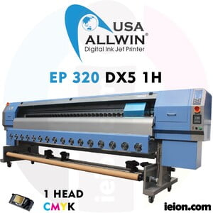 Allwin EP 320 DX5 1H Ecosolvent Printer