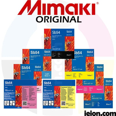 Mimaki Sb54 Dye Sublimation Ink 440cc Cartridges