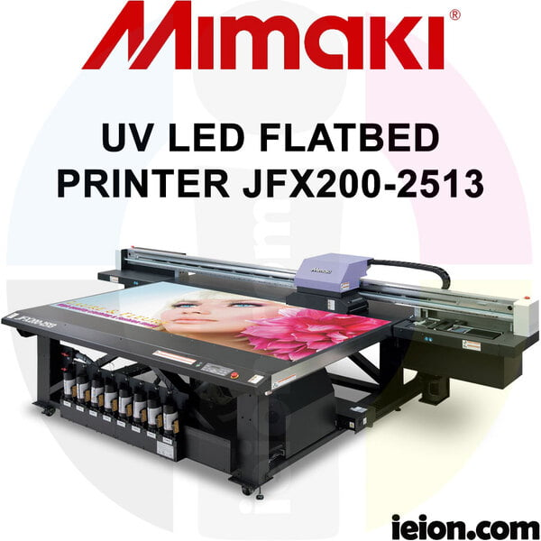 Mimaki UV JFX200-2513 UV LED FLATBED Printer