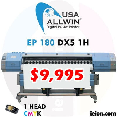 Allwin EP 180 DX5 1H Ecosolvent Printer