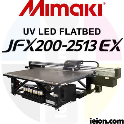 Mimaki UV JFX200-2513 EX UV LED FLATBED Printer