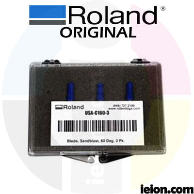 Roland 60 degree offset blade - All Purpose - Kit of 3 units