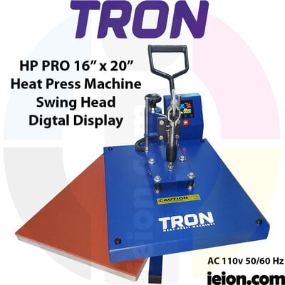 "Tron HP PRO 16""x20"" Heat Press Machine"