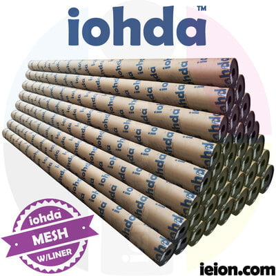 iohda Mesh with liner,1000*1000D, 12*12/sq.in 360gsm, hard tube