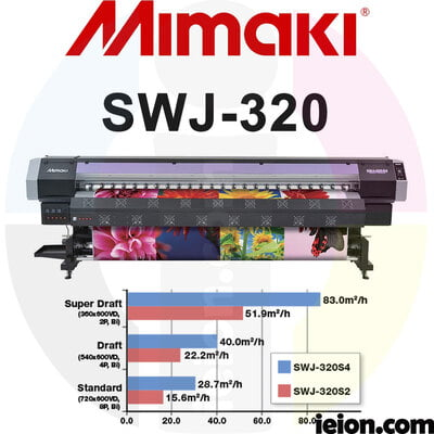 Mimaki SWJ-320S4 Printer