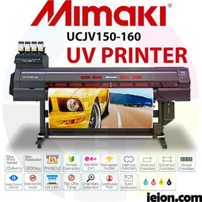 Mimaki UCJV150-160 LED UV Printer Roll to Roll