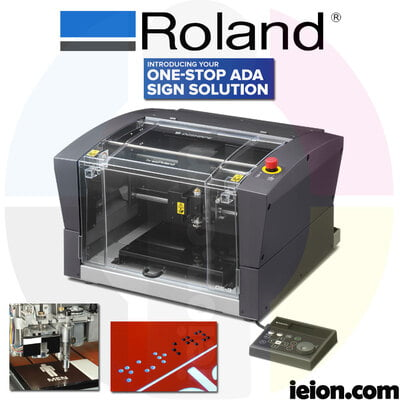 Roland DE-3 DGSHAPE Engraver with ADA Kit Included