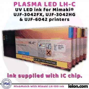 Bordeaux PLASMA LED HL-C 220ml cartridges for Mimaki
