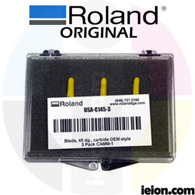 Roland 45 degree offset blade - All Purpose - Kit of 3 units USA-C145-3