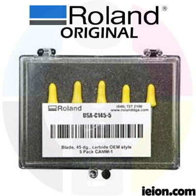 Roland 45 degree offset blade - All Purpose - Kit of 5 units USA-C145-5